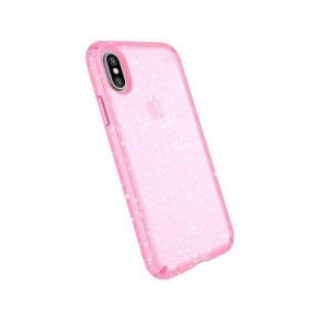 Чехол для iPhone X/XS Speck PRESIDIO BELLA PINK WITH GLITTER/BELLA (SP-103132-6603)