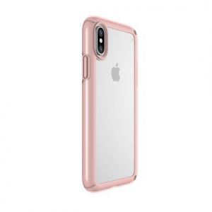 Чехол для iPhone X/XS Speck PRESIDIO SHOW CLEAR/ROSE GOLD (SP-103134-6244)