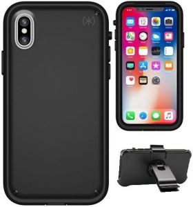 Чехол для iPhone X Speck PRESIDIO ULTRA BLACK/BLACK/BLACK (SP-104050-3054)