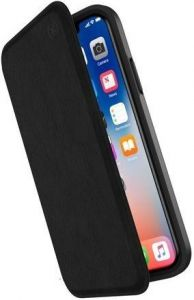 Чехол для iPhone X Speck PRESIDIO FOLIO LEATHER BLACK-BLACK (SP-110972-1050)