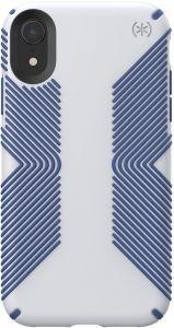 Чехол для iPhone XR (6.1'') Speck PRESIDIO GRIP - MICROCHIP GREY/BALLPOINT BLUE (SP-117059-7569)
