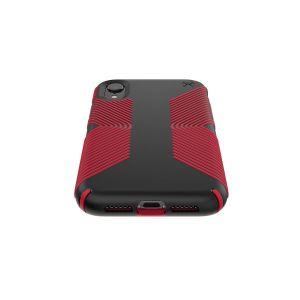 Чехол для iPhone XR (6.1'') Speck PRESIDIO GRIP - BLACK/DARK POPPY RED (SP-117059-C305)