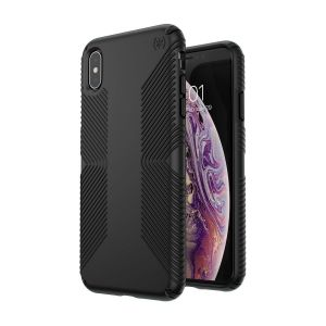 Чехол для iPhone XS Max (6.5'') Speck PRESIDIO GRIP - BLACK/BLACK (SP-117106-1050)
