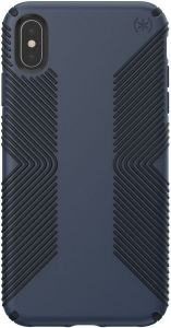 Чехол для iPhone XS MAX (6.5'') Speck PRESIDIO GRIP - ECLIPSE BLUE/CARBON BLACK (SP-117106-6587)