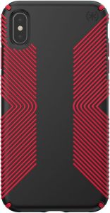 Чехол для iPhone XS Max (6.5'') Speck PRESIDIO GRIP - BLACK/DARK POPPY RED (SP-117106-C305)