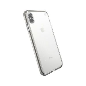 Чехол для iPhone XS MAX (6.5'') Speck Presidio Clear With Gold Glitter/Clear (SP-117112-5636)