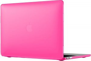 "Чехол-накладка для MacBook Air 13"" (2018) Speck Smartshell Rose Pink (SP-126087-6011)"
