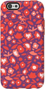 Чехол для iPhone 6/6S (4.7'') Speck Candyshell Inked Kurbits Floral Red/Wild Salmon Pink (SP-73774-C265)