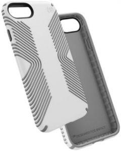 Уцененный товар! Чехол для iPhone 8 / 7 (4.7'') Speck Presidio Grip White/ Ash Grey (SP-79987-5728)