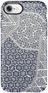 Чехол для iPhone 8 / 7 (4.7'') Speck Presidio Inked Shiboritile Blue Matte/Marine Blue (SP-79990-5757)