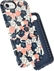 Чехол для iPhone 8 / 7 (4.7'') Speck Presidio Inked - MARBLEDFLORAL PEACH MAT/MARINE (SP-79990-5760)