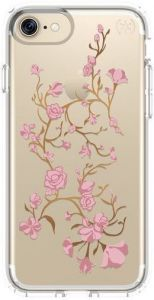 Чехол для iPhone 8 / 7 (4.7'') Speck Presidio Clear With Graphics Goldenblossom Pink/Clear (SP-79991-5754)
