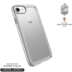 Чехол для iPhone 8 / 7 (4.7'') Speck Presidio SHOW - Clear/Sterling Silver (SP-88203-6245)