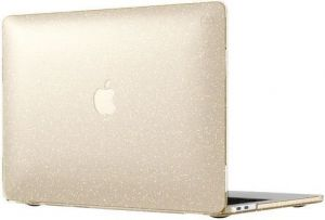 Чехол для MacBook Pro 13'' Retina (2016-2018) Speck Smartshell - Clear With Gold Glitter/Clear (SP-90207-5636)