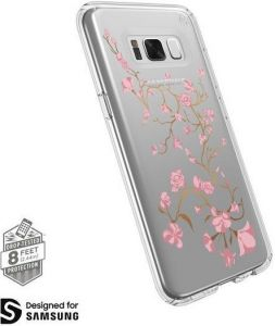 Чехол для Samsung Galaxy S8 (G950) Speck Presidio Clear Print GoldenBlossoms Pink/Clear (SP-90254-5754)