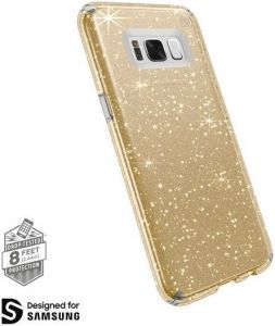 Чехол для Samsung Galaxy S8 (G950) Speck Presidio Clear Glitter Clear with Gold Glitter/Clear (SP-90255-5636)