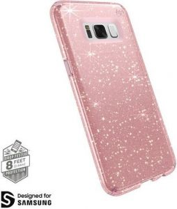 Чехол для Samsung Galaxy S8 (G950) Speck Presidio Clear Glitter Rose Pink with Gold Glitter/Rose Pink (SP-90255-5978)