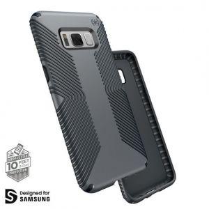 Чехол для Samsung Galaxy S8 Plus (G955) Speck Presidio Grip - Graphite Grey/Charcoal Grey (SP-90257-5731)