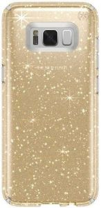 Чехол для Samsung Galaxy S8 Plus (G955) Speck Presidio Clear Glitter - Clear with Gold Glitter/Clear (SP-90262-5636)