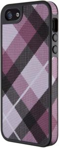 Чехол для iPhone SE и iPhone 5/5S Speck FabShell (MegaPlaid Mulberry/Black) (SP-SPK-A1594)