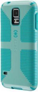Чехол для Samsung Galaxy S5 Speck CandyShell Grip Aloe Green/Caribbean Blue (SP-SPK-A2767-S)