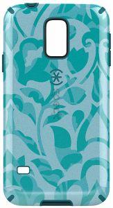 Чехол для Samsung Galaxy S5 Speck CandyShell Inked WallFlowers Blue/Atlantic Blue (SP-SPK-A2858)