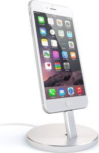 Док-станция Satechi Aluminum Desktop Charging Stand Silver (ST-AIPDS)