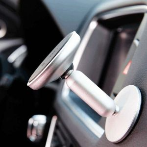 Автодержатель (до 7'') Baseus Bullet An On-Board Magnetic Bracket Black (SUYZD-01)