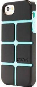 Чехол для iPhone SE/5/5S Incase SYSTM Chisel Case Asphalt/Sea Foam (SY10061)