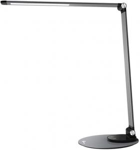Сетевое ЗУ (+настольная лампа) TaoTronics LED Desk Lamp with USB Charging Port 9W Black (TT-DL22)