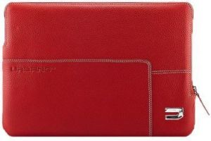 Кожаный чехол для Macbook Pro 15'' / Pro 15'' Retina Urbano Cases Zip Sleeve Red (URB-UZRS15-04)