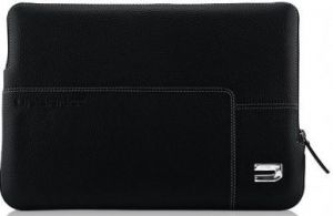 Кожаный чехол для Macbook 12'' / Air 11'' Urbano Cases Zip Sleeve Black (URB-UZRSA11-01)