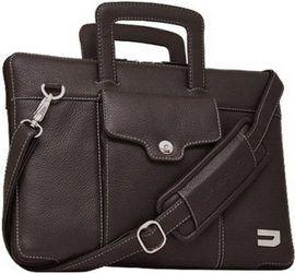 Кожаная сумка / чехол-книжка для MacBook 12'' URBANO Compact Attache Leather - Chocolate (UZRB12-02)
