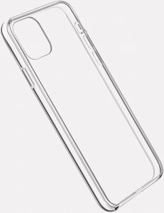 Чехол для iPhone 11 (6.1'') Vokamo Sdouble Protective Case Transparent (VKM00217)