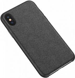 Чехол для iPhone XS Max (6.5'') Baseus Super Fiber Case Black (WIAPIPH65-YP01)
