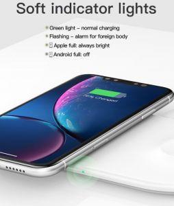 Беспроводное зарядное устройство для iPhone и Apple Watch Baseus Wireless Charging Smart 10W White (WX2IN1-02)