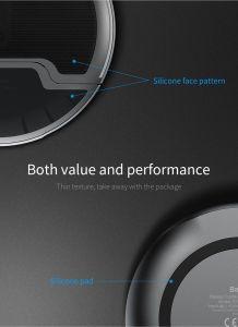 Беспроводное зарядное устройство Baseus Foldable Multifunction Wireless Charger White+Gray (WXZD-02)