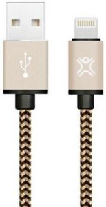 Кабель XtremeMac Lightning Nylon Cable Gold (1.2 m) (XCL-PRC-93)