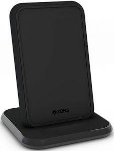 Беспроводное зарядное устройство Zens Stand Aluminium Wireless Charger 10W Black (ZESC13B/00)