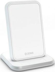 Беспроводное зарядное устройство Zens Stand Aluminium Wireless Charger 10W White (ZESC13W/00)