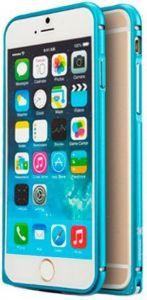 Бампер для iPhone 6 Plus / 6S Plus (5.5'') Mooke Metal Bumper Blue