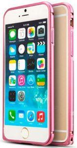 Бампер для iPhone 6 Plus / 6S Plus (5.5'') Mooke Metal Bumper Pink