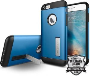 Чехол для iPhone 6/6S (4.7'') Spigen (SGP) Case Slim Armor Electric Blue (SGP11606)