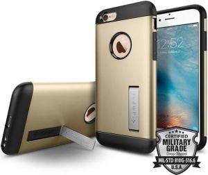 Чехол для iPhone 6/6S (4.7'') Spigen (SGP) Case Slim Armor Champagne Gold (SGP11607)