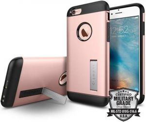 Чехол для iPhone 6/6S (4.7'') Spigen (SGP) Case Slim Armor Rose Gold (SGP11723)