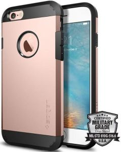 Чехол для iPhone 6/6S (4.7'') Spigen (SGP) Case Tough Armor Rose Gold (SGP11741)