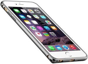 Бампер для iPhone 6 Plus / 6S Plus (5.5'') Melkco Q Arc Bumper - Silver (APIP65ALQASRME)
