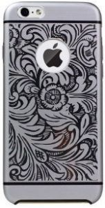 Металлический чехол iBacks Aluminium Case Essence Cameo Venezia Series for iPhone 6/6S 4.7'' Black