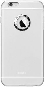 Металлический чехол iBacks Armour Diamond Case for iPhone 6 Plus / 6S Plus Silver