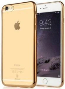 Чехол Baseus Shining case For iPhone 6 Plus / 6S Plus Gold